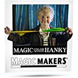 Color Changing Hanky Magic Trick by Magic Makers - Easy Magic Sure to Amaze [並行輸入品]