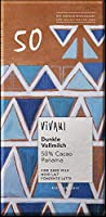 ヴィヴァーニ オーガニックダークミルクチョコレート 50% 80g ×10セット