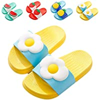 NADARDA Kids Unicorn Slippers Slide Sandals, Cute Water Shoes Boys Girls Shower Pool Slipper (Toddler/Little Kids)