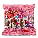 やおきん うまい棒 チョコ バレンタイン パッケージ 30本×2袋