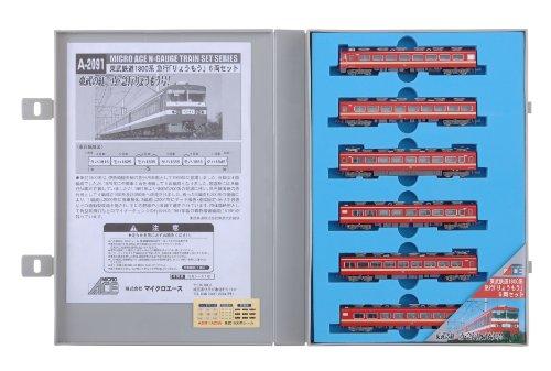 Nゲージ A2091 東武鉄道1800系 急行「りょうもう」 6両セット