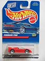 HOT WHEELS 1998 FERRARI F50 Red CONVERTIBLE #377