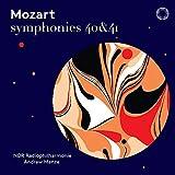 モーツァルト : 交響曲 第40番 & 第41番「ジュピター」 (Mozart : Symphonies 40 & 41 / NDR Radiophilharmonie | Andrew Manze) [SACD Hybrid ] [Import] [日本語帯・解説付]
