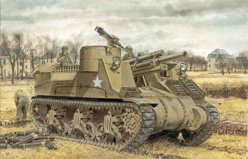 1/35 アメリカ M7自走砲 (プリースト) 中期生産型 (スマートキット)