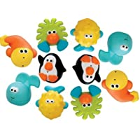 Sassy Bathtime Pals Squirt and Float Toys, 5 Piece Set (Pack of 2) by Sassy [並行輸入品]