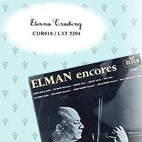 [CD-R] M.エルマン(vn)J.セイガー(pf) 「 ELMAN encores 」