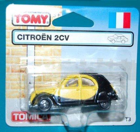 トミカ T-3 シトロエン 2CV 英国トミカオリジナル 絶版
