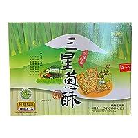 台湾 三星葱酥(葱クラッカー)100g×3個入/1箱 宜蘭名産 (1箱)