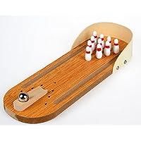 BOyid Kids Mini Wooden Tabletopボーリングのゲーム教育玩具子供の楽しい
