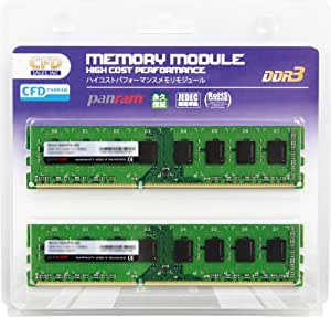 CFD-Panram デスクトップ用 DDR3 1600 Long-DIMM 4GB 2枚組 CL11 W3U1600PS-4G