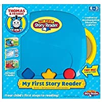 My First Story Reader with 3-Book Thomas & Friends Library: Thomas on the Tracks; Harold Helps Out; Five Engine Friends [並行輸入品]