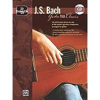J.S. Bach Guitar Tab Classics (Basix)