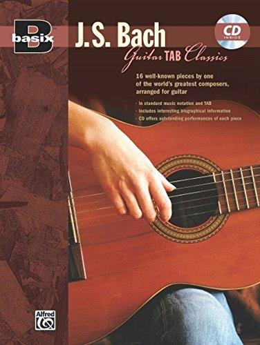J.S. Bach Guitar Tab Classics ...