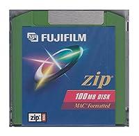 ZIPドライブ用(緑色)100MBメディア FUJIFILM ZIP MAC CLR 100MB 1PK