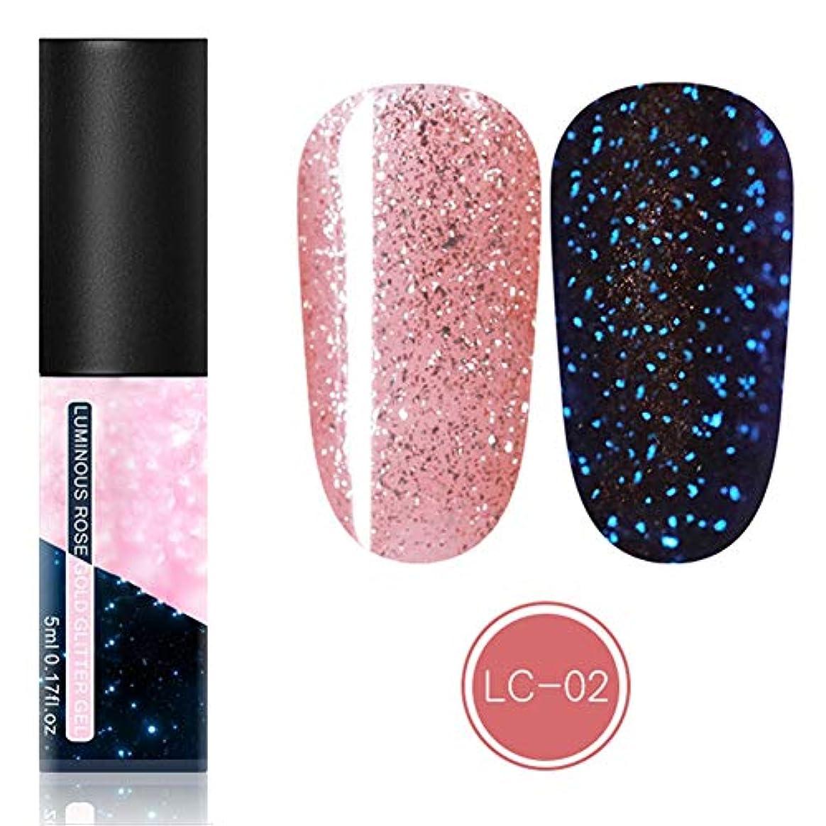 パンチ展開する通知feelingood Gel Nail Polish,Fluorescent Gel Nail Polish Glow in Dark Nail Enamel Varnish Gel Manicure Supply