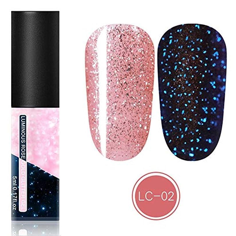 ドライバぼかし家事feelingood Gel Nail Polish,Fluorescent Gel Nail Polish Glow in Dark Nail Enamel Varnish Gel Manicure Supply