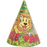 子供のための10個の漫画子供の誕生日ハットパーティーハット