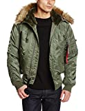 (アルファインダストリーズ)ALPHA INDUSTRIES N-2B TIGHT JACKET 20005-3 03 VINTAGE GREEN L