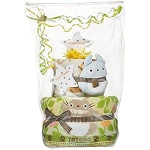 おむつケーキ研究所 となりのトトロ 出産祝い 豪華2段 おむつケーキ パンパーステープタイプSサイズ