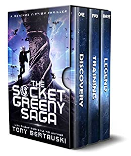 The Socket Greeny Saga: A Science Fiction Thriller by [Bertauski, Tony]