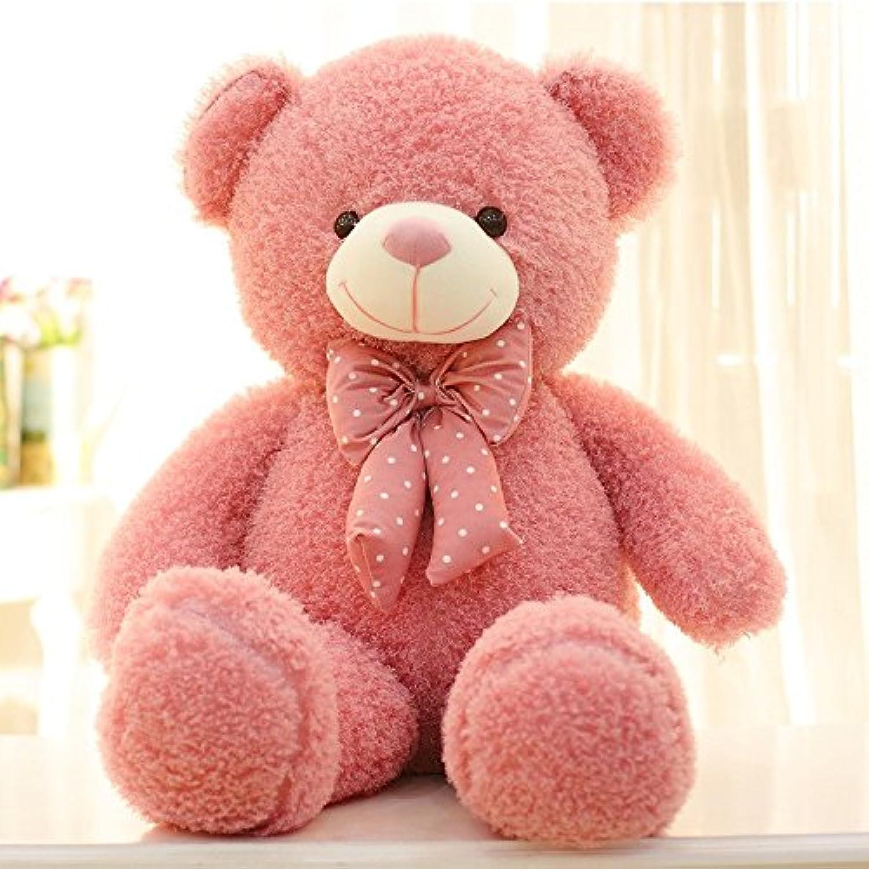HYAKURIぬいぐるみ 特大 くま/テディベア 可愛い熊 動物 大きい テディベア クマ ぬいぐるみ くま 特大 4色 120cm 抱き枕  (ピンク)