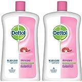 Dettol Skincare Germ Protection Handwash Liquid Soap Jar, 900ml (Pack of 2)