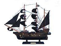 "Hampton 船舶用木製エドワード イングランド パールモデル 海賊船 20"" PEARL 20"