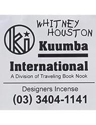 KUUMBA (クンバ)『incense』(WHITNEY HOUSTON) (Regular size)