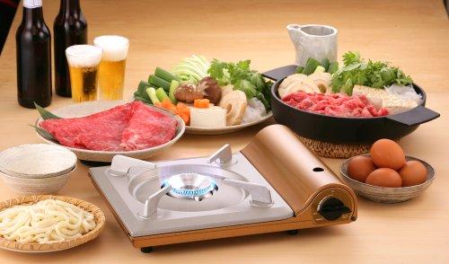 Iwatani Portable Cartridge Gas Cassette grill Slim CB-AS-1 TS-1 74mm F S Japan