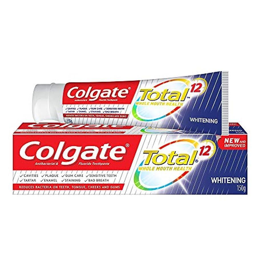 高音不明瞭硬い(コルゲート)Colgate 歯磨き粉 Total (150g, ホールマウスヘルス)