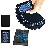トランプ ブラック カード セット マジック 手品 スタイリッシュ インテリア (ブラック)