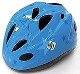 【SAGISAKA(サギサカ)】 子供用ヘルメット 自転車用キッズヘルメット スタンダードモデル Sサイズ(48-52cm)2~6歳未満 女の子用 男の子用 【SG規格適合 自転車 子供用ヘルメット】 スターブルー