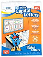 Mead Capital Letters Dry Erase Book Grades Pre-K-1 (54070) [並行輸入品]