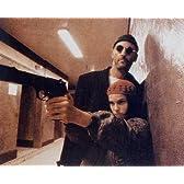 ブロマイド写真★映画『レオン』廊下で銃を構えるマチルダ&レオン/ジャン・レノ、ナタリー・ポートマン