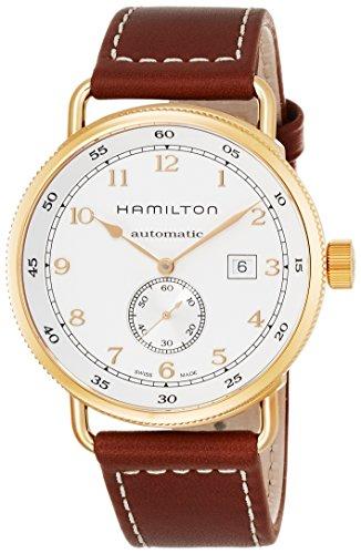[ハミルトン]HAMILTON 腕時計 カーキ ネイビー パイオニア オート 機械式自動巻 10気圧防水 H77745553 メンズ 【正規輸入品】