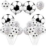 サッカーバルーン フットボール風船 子供 大人 スポーツ ワールドカップ 誕生日風船 イベント飾り付け 部屋装飾