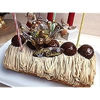 【クリスマスケーキ】 栗のロールケーキ マロンロール 5人分 モンブラン【12/22着】神戸スイーツ(お取り寄せグルメ 人気 有名)