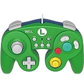 Wii WiiU HORI スーパーマリオ BATTLE PAD ルイージ 並行輸入品★日本の本体でも使用可!