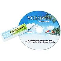 CD / DVDプレーヤーレンズレーザー+洗浄液ヘッド汚れクリーナーリストアキット