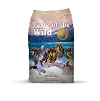 Taste of the Wild Grain Free Wetlands Wild Fowl Canine Formula Dog Food 5lbs