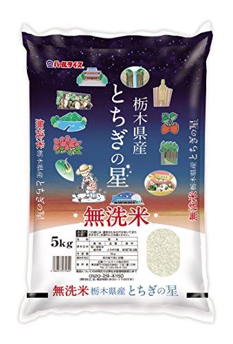 栃木県産 無洗米 とちぎの星 5kg