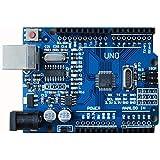 Arduino互換並行輸入品 ロボットプロジェクト 開発ボード 学習ボード (UNO R3改良版)