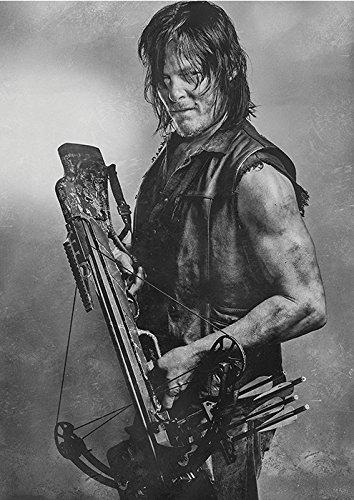 海外ドラマ ウォーキング・デッド ノーマン・リーダス / ダリル ポスター 42x30cm The Walking Dead Norman Reedus Daryl Dixon [並行輸入品]