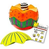 Hedstrom Sensory Stackingボールセット – -触覚Sensory Ball for Toddlers Kids with Rewardステッカー( FineモータースキルToys )