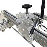 2.5W 卓上レーザー加工機 彫刻機 DIYキット 35×50cm [並行輸入品]