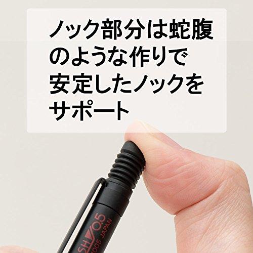 『ぺんてる シャープペン スマッシュ 0.5mm Q1005-1 ブラック』の3枚目の画像