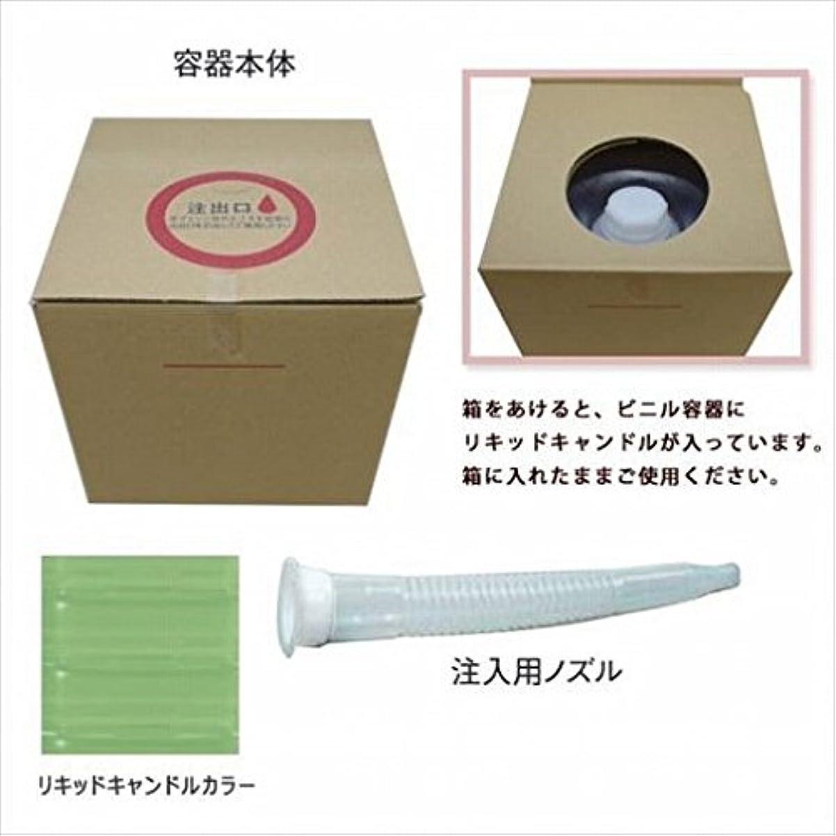 遵守する取るに足らない表面的なkameyama candle(カメヤマキャンドル) リキッドキャンドル5リットル 「 ライトグリーン 」(77320000LG)