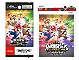 『マリオスポーツスーパースターズ』amiiboカード(4パック+アルバム(90枚収納)セット)