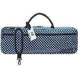 ボーモント フルート・ケースカバー(キャリーバッグ) H管用 カラー&デザイン:ブルー・ポルカ・ドット