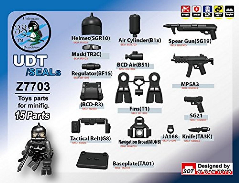 LEGOカスタムパーツ アーミー 装備品 武器 UDT/SEALs Set(フィグ無し) 【並行輸入品】